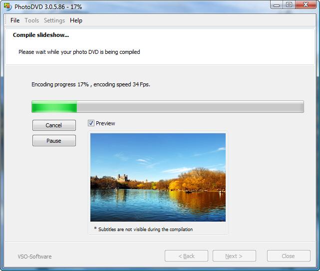 ������ Vso PhotoDVD 3.0.8.3 ����� ���� ������ ������ ������� �������� �� ����