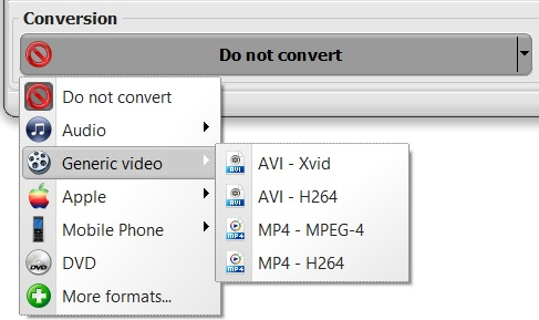 vso downloader conversion profiles