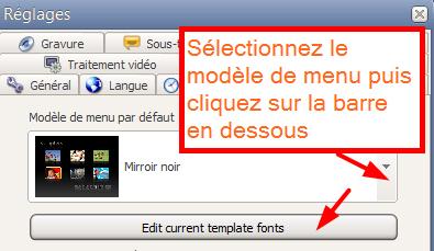 convertxtodvd menu templates - comment personnaliser les textes des menus dvd