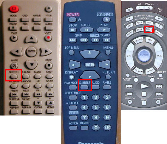 How to activate subtitles on TV and PC ? : Guides + Manuals