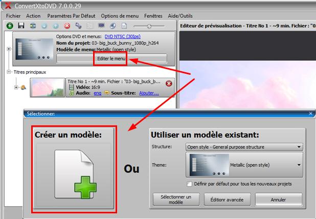 access menu editor