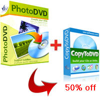 PhotoDVD + CopyToDVD 50% taniej