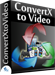 Convert any video format into the most popular video formats