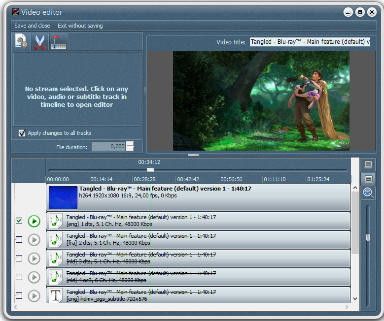 VSO Blu-ray to MKV Screenshot