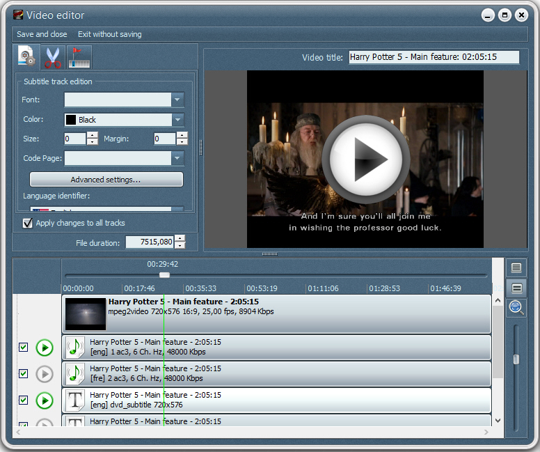 VSO DVD to DVD Screenshot