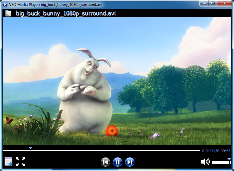 Click to View Full ScreenshotVMP 0.1.1.268 screenshot