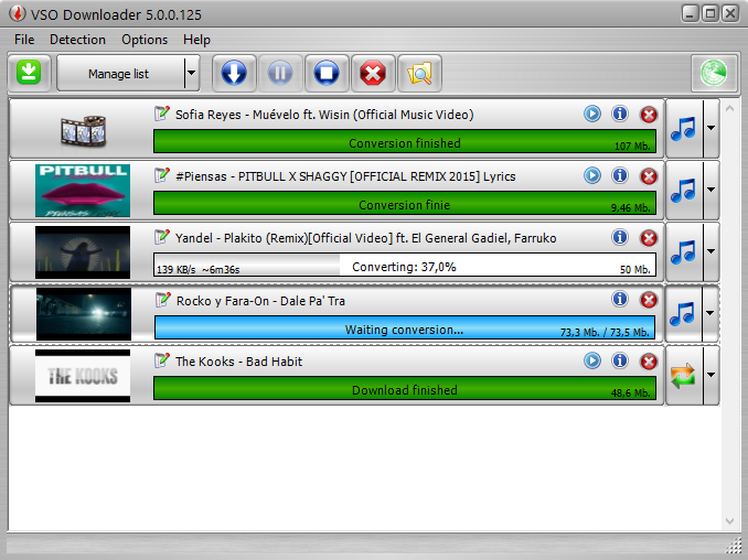 VSO Video Downloader Screenshot